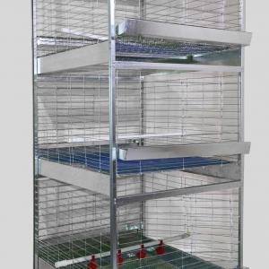 قفس 3 طبقه جوجه