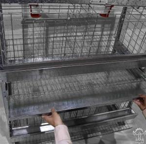 قفس مرغ 3 طبقه